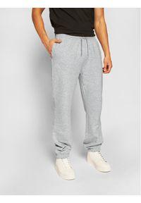 Kappa Spodnie dresowe Snako 703885 Szary Regular Fit. Kolor: szary. Materiał: dresówka