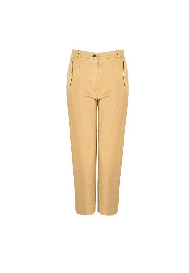 """Pinko Spodnie """"Antiope"""". Okazja: na co dzień. Materiał: tkanina. Styl: casual"""