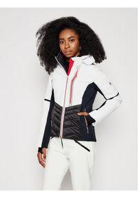 Biała kurtka zimowa Descente