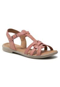 Różowe sandały Ricosta