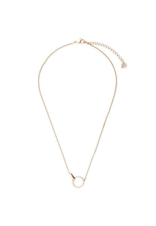 Swarovski Naszyjnik Necklace Hand 5489573 Różowy. Kolor: różowy