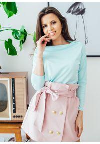 Miętowa bluzka Fanaberia.com na wiosnę