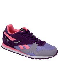 Sneakersy Reebok w kolorowe wzory, z cholewką
