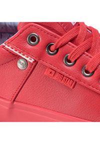 Big-Star - BIG STAR Tenisówki GG274062 Czerwony. Kolor: czerwony