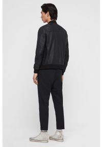 Czarna kurtka AllSaints bez kaptura, na co dzień