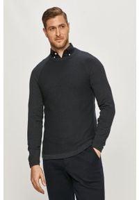Niebieski sweter Only & Sons casualowy, na co dzień, raglanowy rękaw