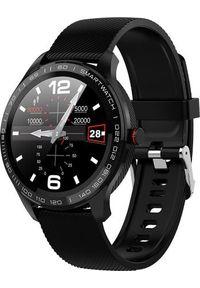 Czarny zegarek Smart And You smartwatch