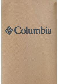 columbia - Columbia - Kurtka. Okazja: na co dzień. Kolor: beżowy. Materiał: tkanina. Wzór: gładki. Styl: casual