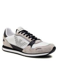Emporio Armani Sneakersy X4X537 XM678 N638 Biały. Kolor: biały