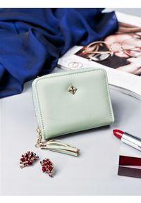 Zielony portfel MILANO DESIGN