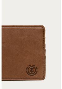 Brązowy portfel Element gładki