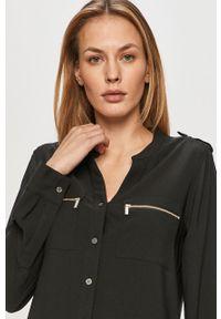 Czarna koszula Calvin Klein casualowa, długa