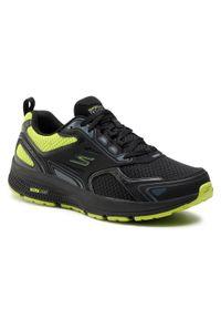 Czarne buty do biegania skechers
