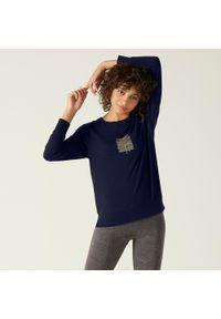 Bluza sportowa NYAMBA z długim rękawem, długa