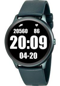 Smartwatch Rubicon KW13 Granatowy (RNCE61DIBX05AX). Rodzaj zegarka: smartwatch. Kolor: niebieski