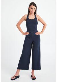 Emporio Armani Swimwear - KOMBINEZON EMPORIO ARMANI SWIMWEAR. Materiał: wiskoza. Wzór: gładki