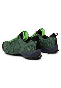 Salewa Trekkingi Ms Wildfire Gtx GORE-TEX 63487 5949 Zielony. Kolor: zielony. Technologia: Gore-Tex. Sport: turystyka piesza