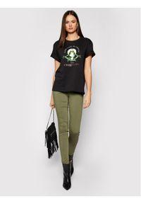 Zielone jeansy slim Liu Jo