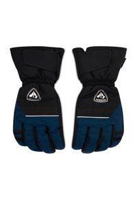 Niebieskie rękawiczki sportowe Rossignol narciarskie