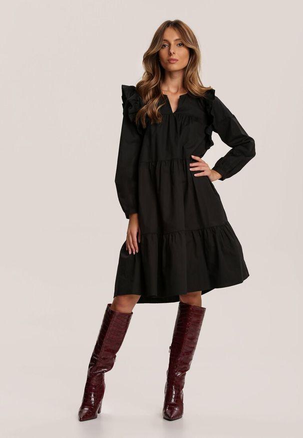Czarna sukienka mini Renee
