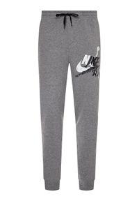 Nike Spodnie dresowe Jordan Jumpman Classics Lightweight Fleece CK2850 Szary Standard Fit. Kolor: szary. Materiał: dresówka