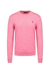 Różowy sweter Polo Golf Ralph Lauren polo