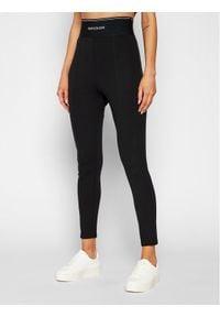 Calvin Klein Swimwear Legginsy J20J215548 Czarny Slim Fit. Kolor: czarny