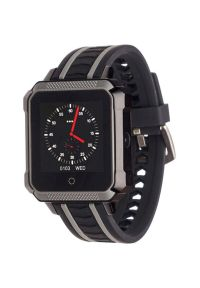 Szary zegarek GARETT sportowy, smartwatch
