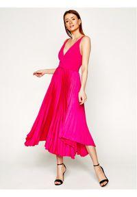 Różowa sukienka wieczorowa Marciano Guess