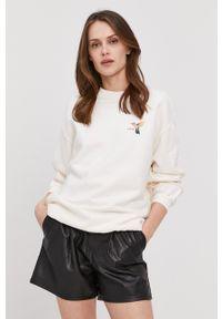Levi's® - Levi's - Bluza bawełniana. Okazja: na spotkanie biznesowe. Kolor: biały. Materiał: bawełna. Długość rękawa: długi rękaw. Długość: długie. Wzór: nadruk. Styl: biznesowy