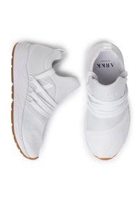 ARKK Copenhagen Sneakersy Raven Mesh S-E15 EL1422-0010-W Biały. Kolor: biały. Materiał: mesh