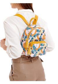 Żółty plecak Nobo casualowy