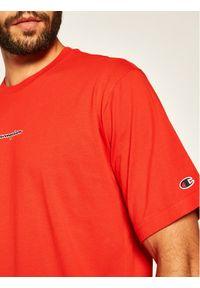 Czerwony t-shirt Champion z nadrukiem