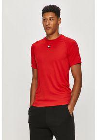 Czerwony t-shirt Tommy Sport raglanowy rękaw, sportowy