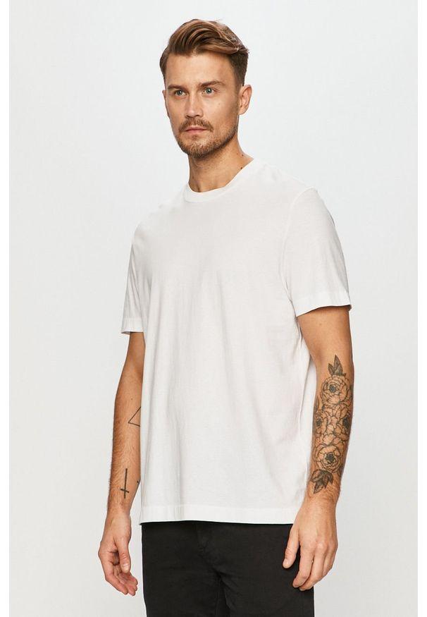 Biały t-shirt AllSaints