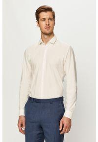 Biała koszula Hugo elegancka, długa