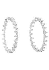 Swarovski Kolczyki Millenia 5602230 Srebrny. Materiał: srebrne. Kolor: srebrny