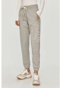 Szare spodnie dresowe GAP