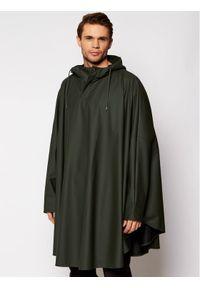 Rains Ponczo Unisex 1811 Zielony Loose Fit. Kolor: zielony #5