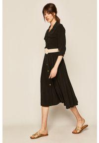 medicine - Medicine - Sukienka Boho Breeze. Kolor: czarny. Styl: boho