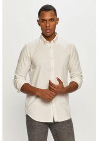 Biała koszula Tom Tailor button down, długa