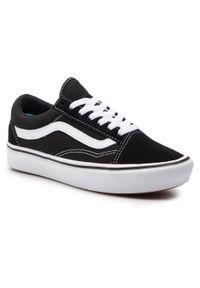 Vans - Tenisówki VANS - Comfycush Old Sko VN0A3WMAVNE1 (Classic) Black/True Whit. Kolor: czarny. Materiał: materiał, zamsz, skóra. Szerokość cholewki: normalna. Model: Vans Classic
