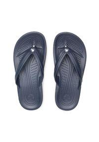 Crocs - Japonki CROCS - Crocband Flip 11033 Navy. Kolor: niebieski. Materiał: materiał. Sezon: lato