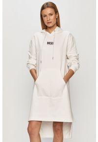 Biała sukienka Diesel oversize, na co dzień, mini