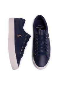 Polo Ralph Lauren Sneakersy Longwood 816785024003 Granatowy. Kolor: niebieski