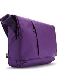 Fioletowa torba na laptopa CASE LOGIC