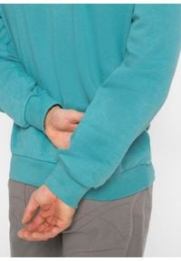 Bluza bonprix Bluza z okr.dek z.mor. Kolor: zielony. Styl: sportowy