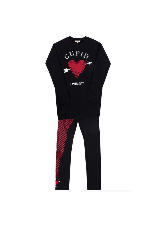 Czarne legginsy TwinSet