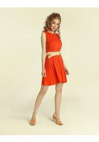 Madnezz - Sukienka Summer Gal 2.0 - chilli. Materiał: elastan, wiskoza