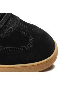 Czarne sneakersy Camel Active na co dzień, z cholewką